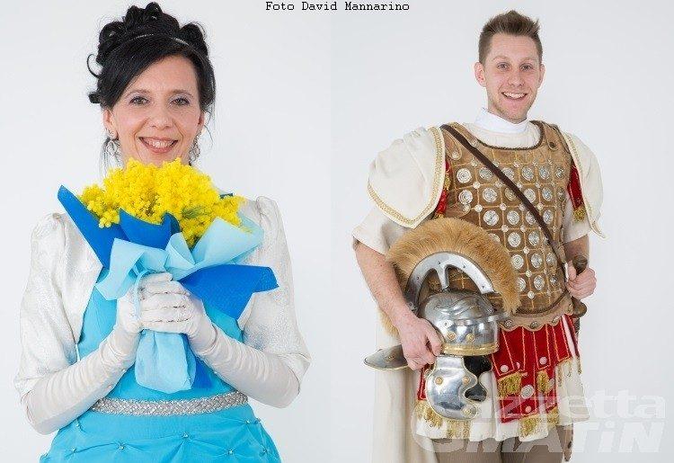 Carnevale: Erika Scavarda è la Ninfa del Lys