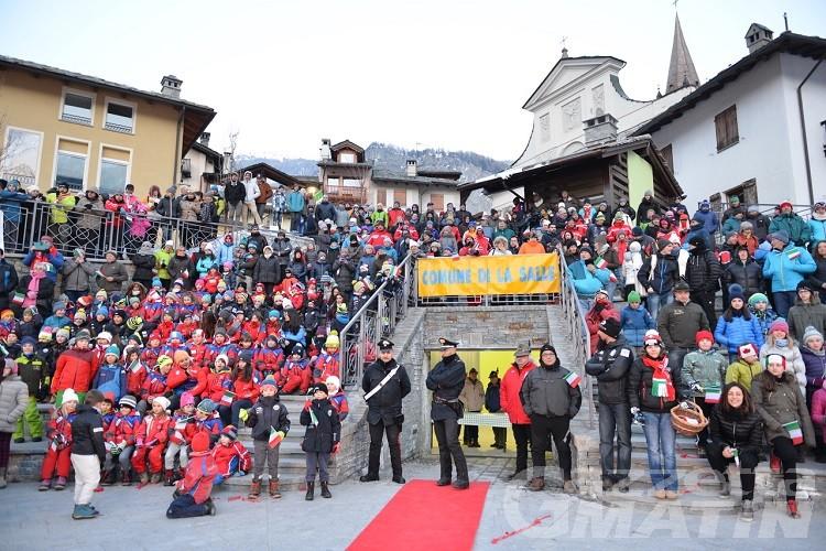 """La Salle ha festeggiato la """"sua"""" olimpionica Federica Brignone"""