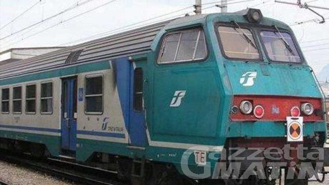 Ferrovia, linea interrotta tra Ivrea e Chivasso