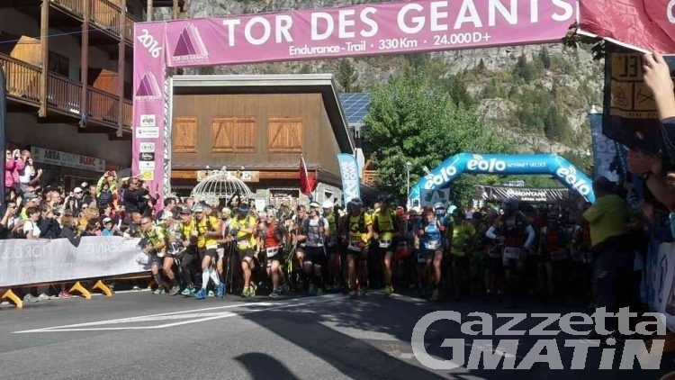 Tor des Géants: sono già 1.560 i trailers iscritti
