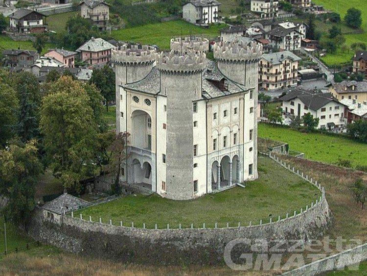 Sicurezza delle cure: il castello di Aymavilles si colora di arancione