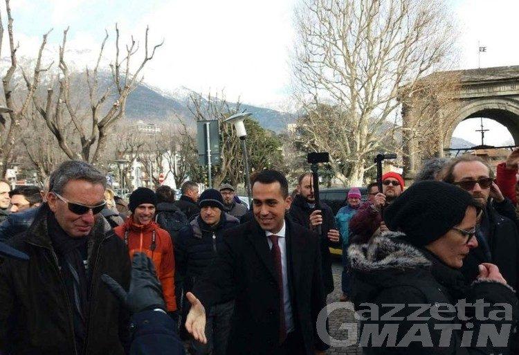 Movimento 5 Stelle, Di Maio ad Aosta domenica 8 aprile