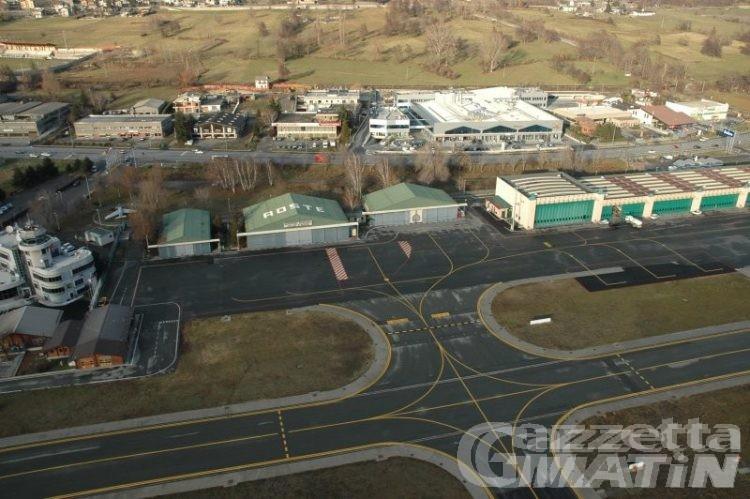 Aeroporto Corrado Gex: stanziati 10 milioni per completare i lavori