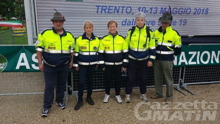 Adunata Alpini: un migliaio di valdostani a Trento