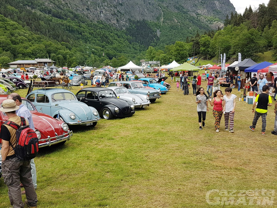 Volks'n'roll mania: in ottomila ad Antey-Saint-André