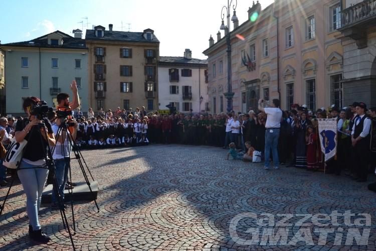 Cori, 1.500 voci in piazza per le Floralies
