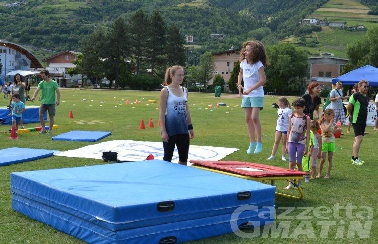 Salute: sport per tutti oggi ad Aosta e Brissogne