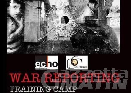 """Arvier: al via il """"War reporting training"""" per operatori dell'informazione in territorio bellico"""