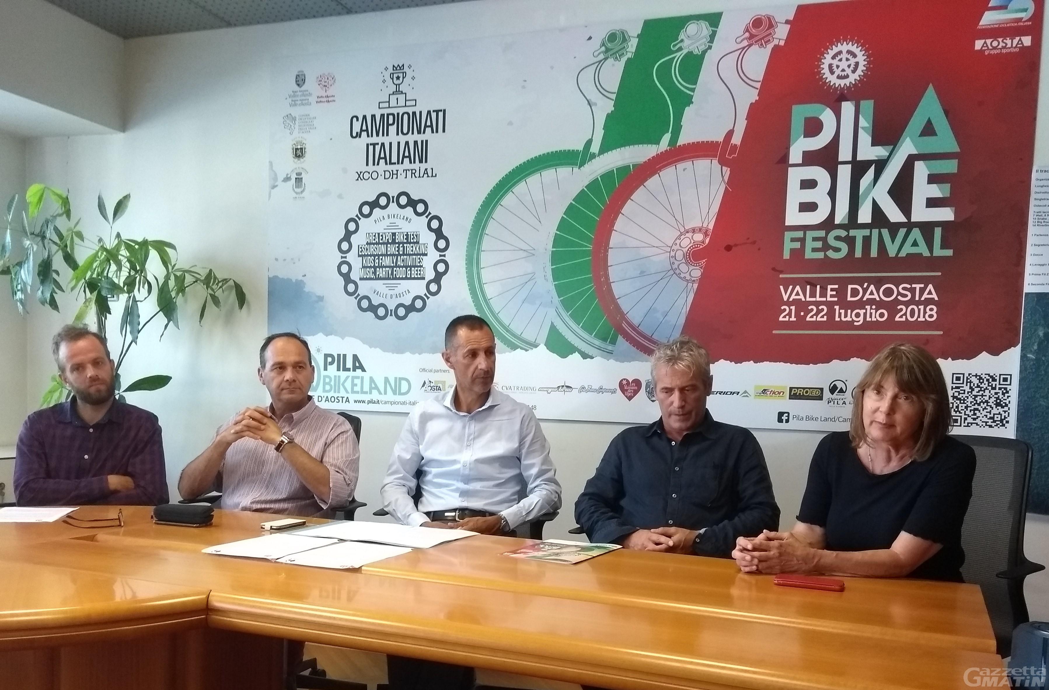 Mountain bike: i tricolori a Pila il 21 e 22 luglio