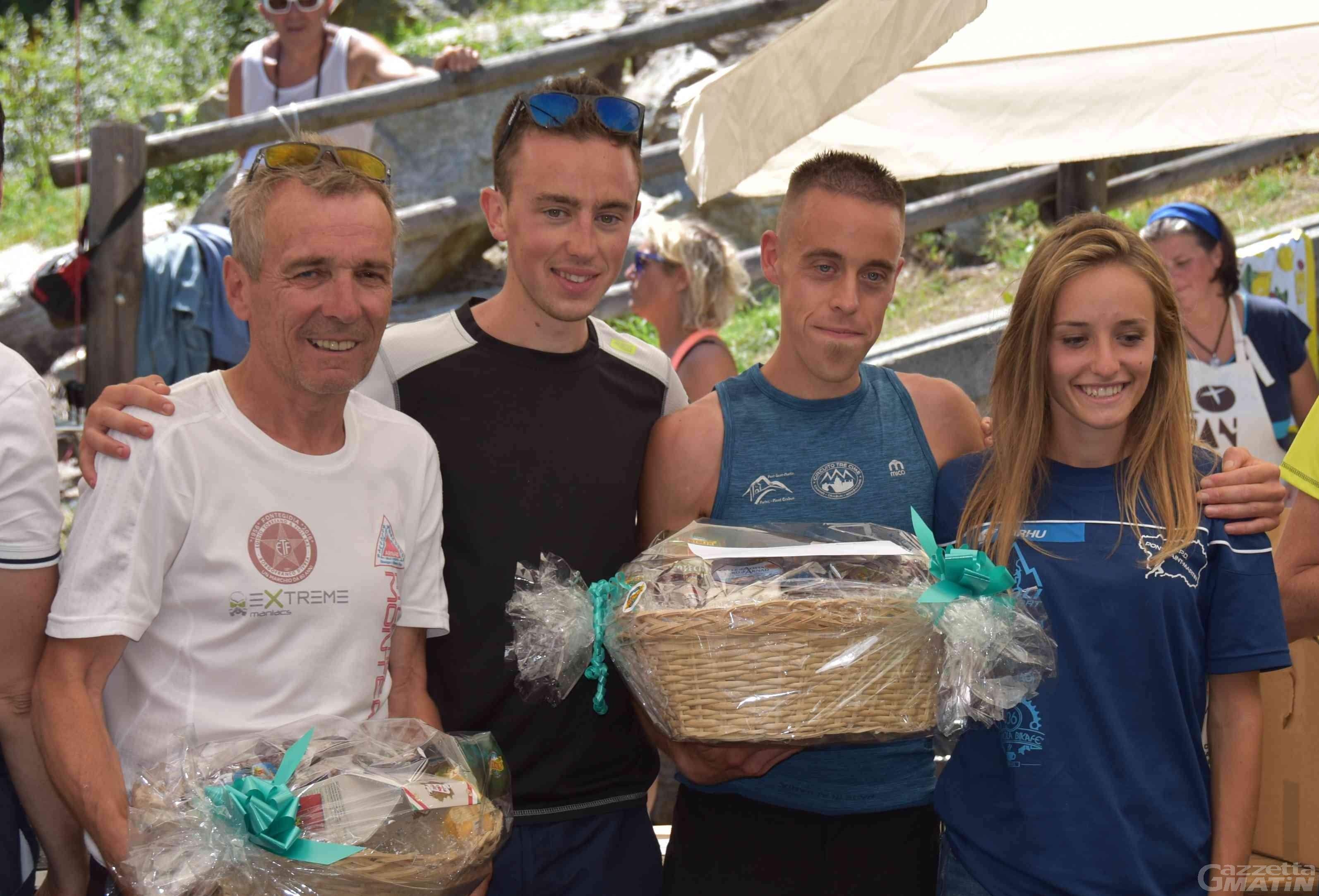 Corsa in montagna: Farcoz-record sul Crabun