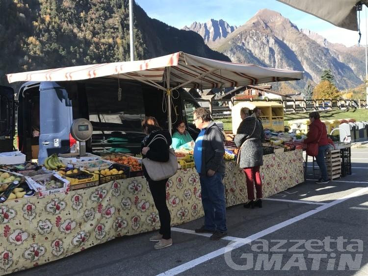 Morgex: il mercato festeggia 700 anni