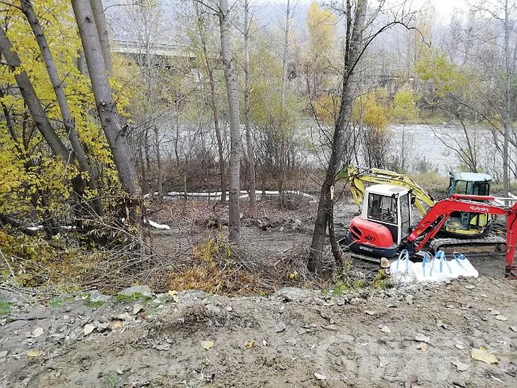 Sversamento di idrocarburi in Dora a Pollein, nessun colpevole
