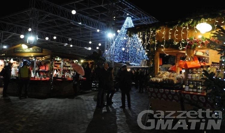 Aosta, Marché Vert Noël: in futuro il mercatino sarà itinerante