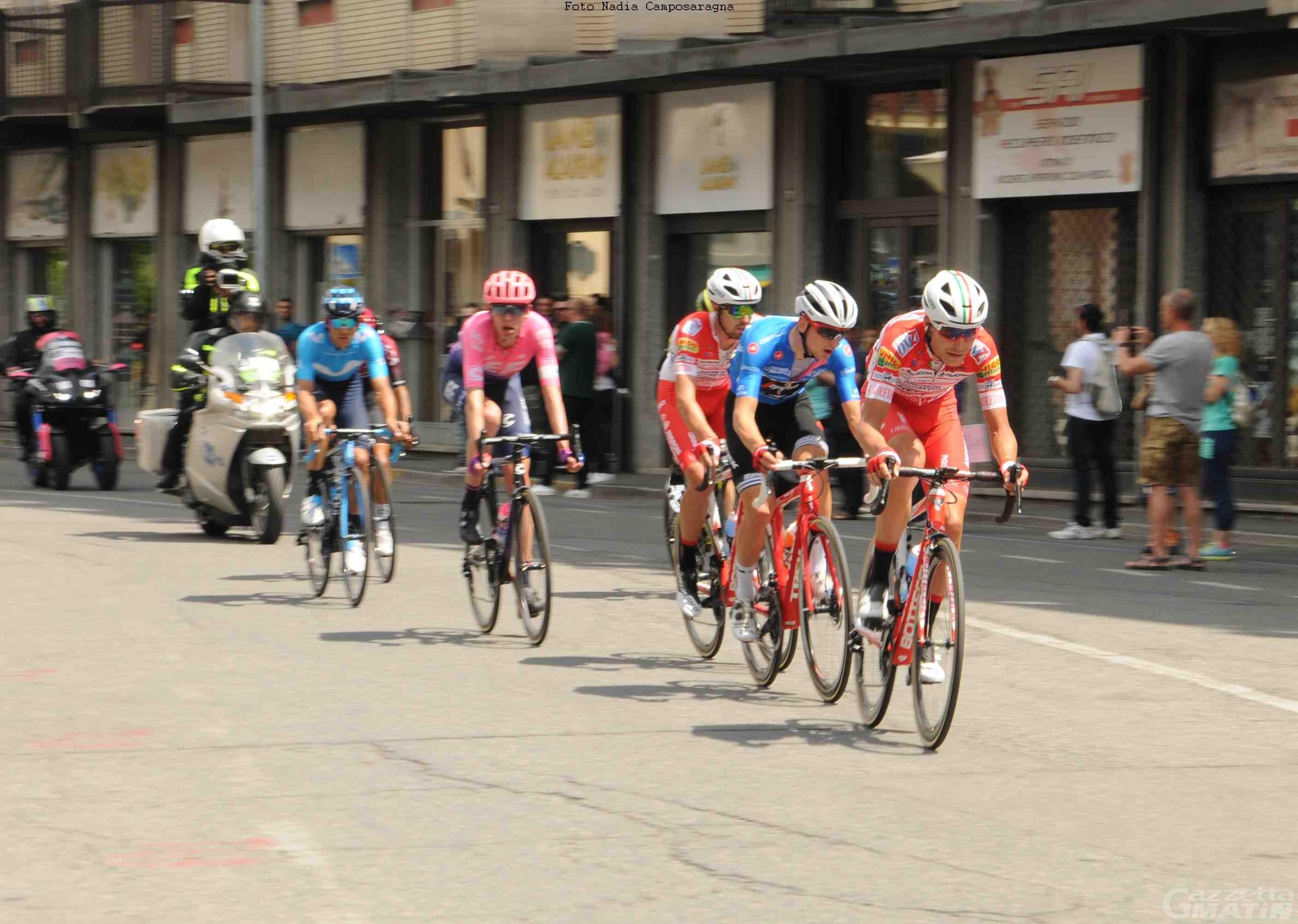 Ciclismo: nel 2022 il Giro d'Italia tornerà in Valle d'Aosta