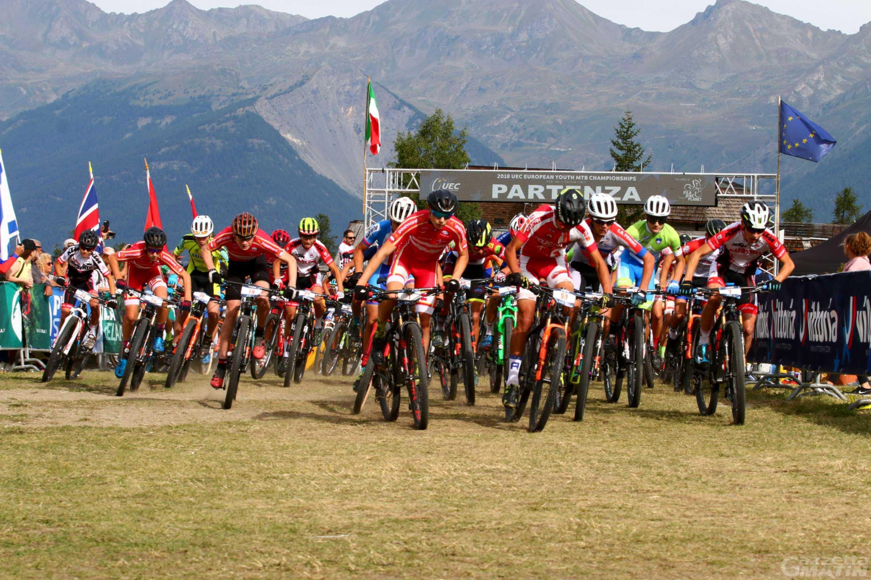 MTB: 525 atleti iscritti ai campionati europei giovanili di Pila