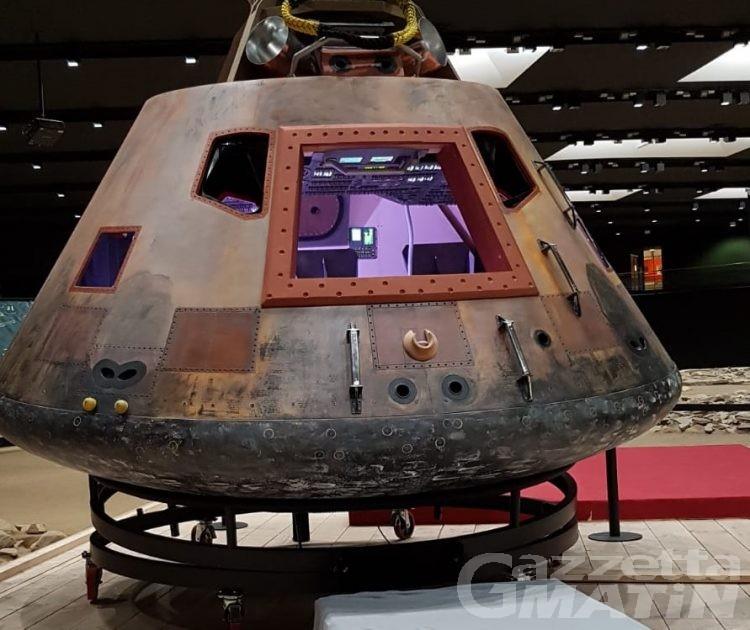 Luna: dall'Area megalitica la diretta della partenza dell'astronauta Parmitano