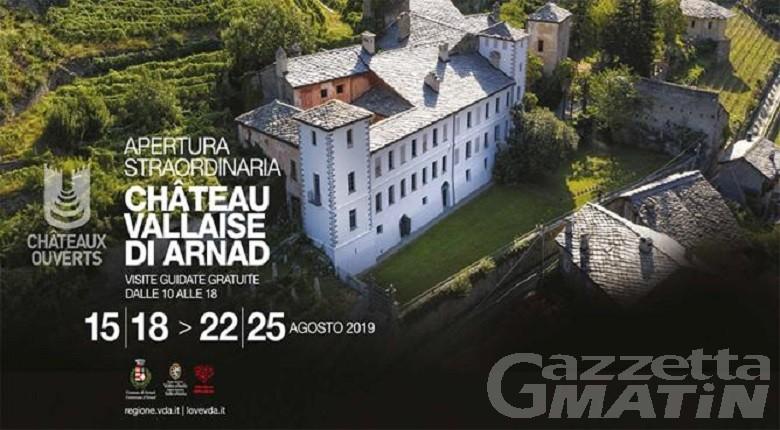 Arnad, più di 5000 visite al cantiere evento di Château Vallaise
