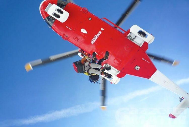 Alpinista cade in un crepaccio sul Breithorn: tratto in salvo dai compagni di cordata e dal Sav