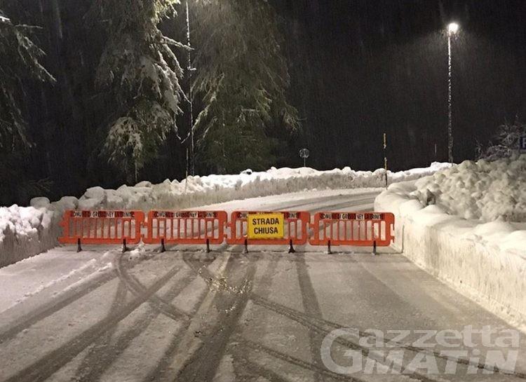 Maltempo: chiusa la regionale della Valle del Lys