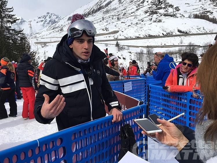 Coppa del Mondo La Thuile: Davide Brignone, «Federica molto decisa»