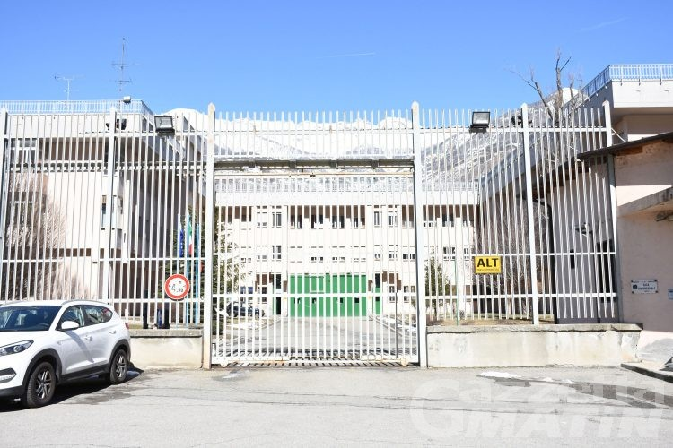 Carcere Brissogne: una media di 200 detenuti (su 177 posti regolamentari) nel corso del 2020