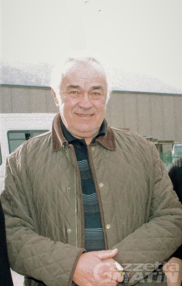 Sarre, addio a Luigi Dayné, storico fondatore della Svap