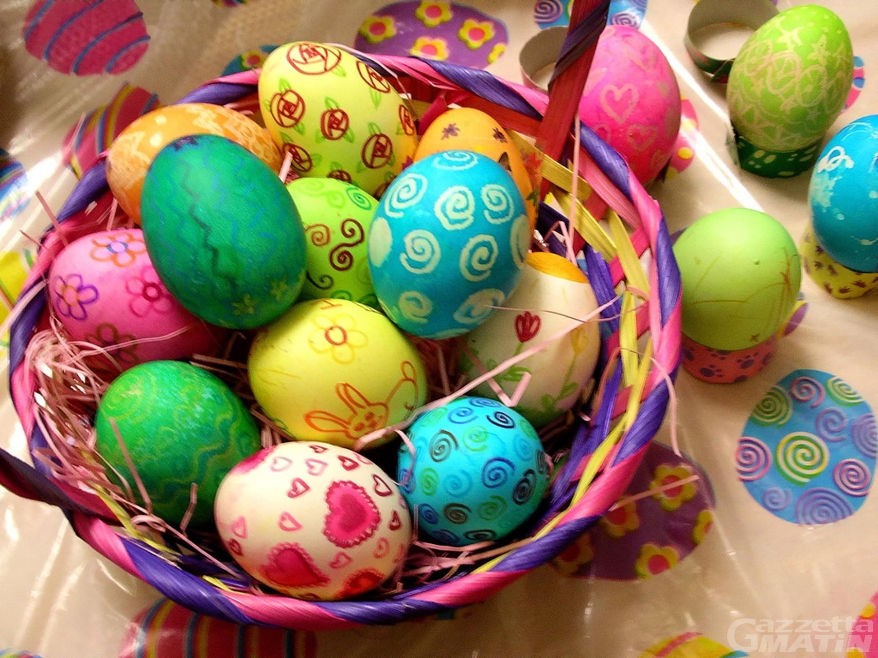 Iniziativa: un uovo di Pasqua per i bambini di Hône, Bard e Pontboset