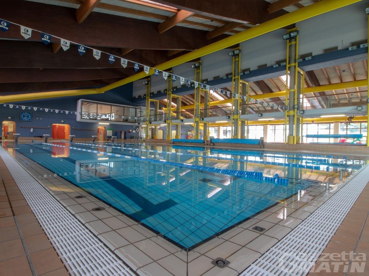 Fase 2: dal 4 giugno riaprono le piscine regionali coperte di Aosta e Verrès