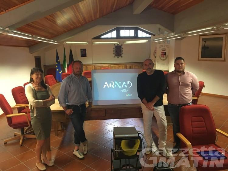 """Arnad, un logo per """"le bon pays de la Vallée"""""""