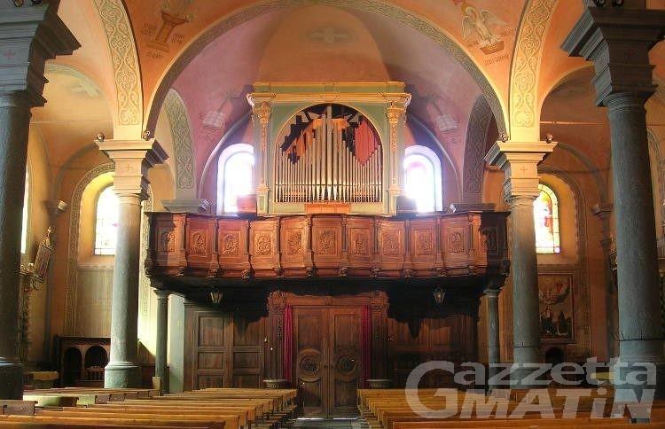 Orgue des Alpes, Antagnod apre il festival organistico del Nord Ovest