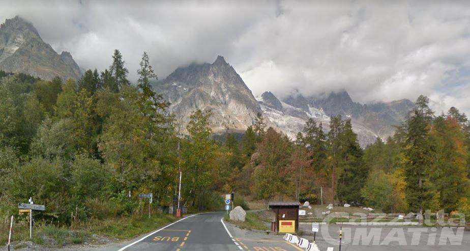 Courmayeur: riaperte le strade di accesso alla Val Ferret