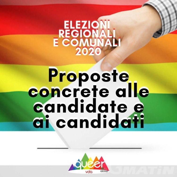 Elezioni: l'Arcigay VdA chiede impegni concreti contro l'omotransfobia
