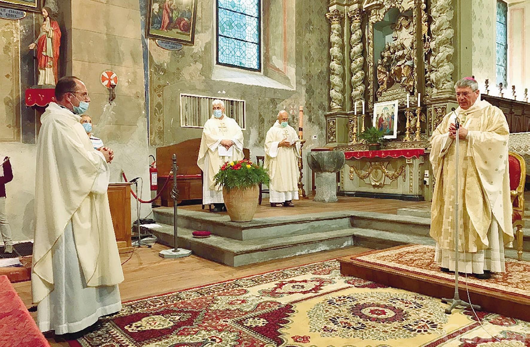 Challand-Saint-Victor, don Pellizzari: «Ho scelto una vita da eremita»