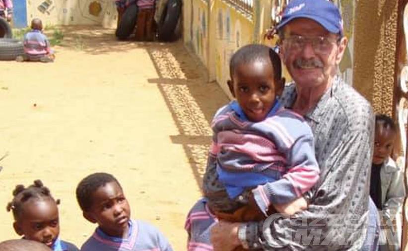 Lutto: l'addio a Emilio Grivon volontario e missionario in Africa