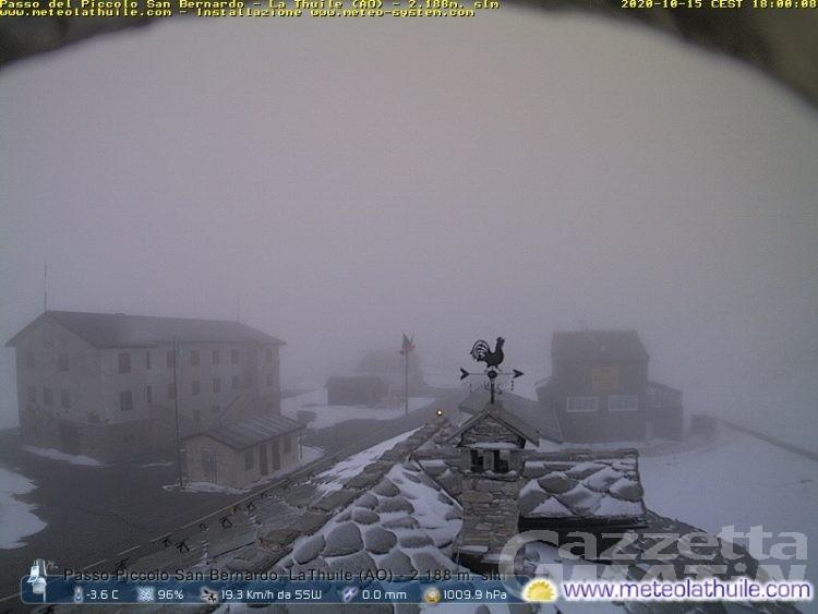 Colle del Piccolo San Bernardo, scatta lunedì 19 la chiusura invernale