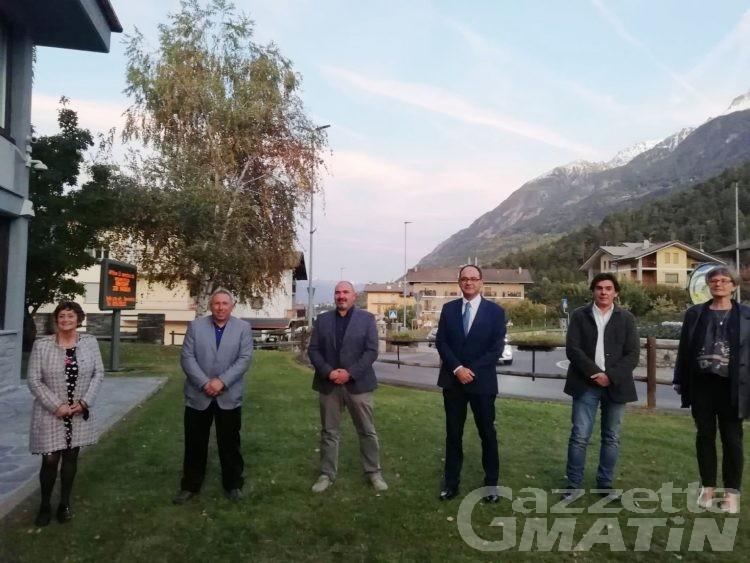 Gressan, il turismo in primo piano nell'agenda di Martinet