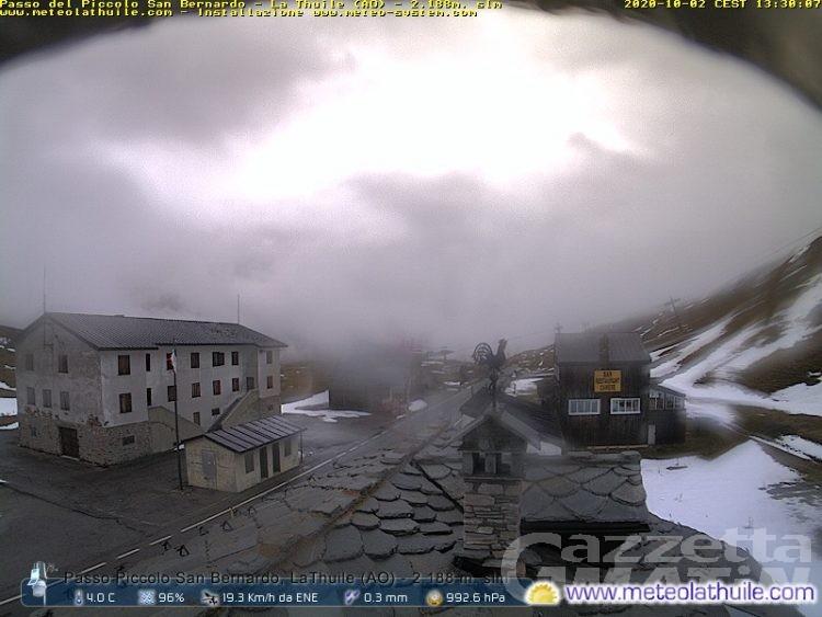 Neve, chiusura del Colle del Piccolo San Bernardo