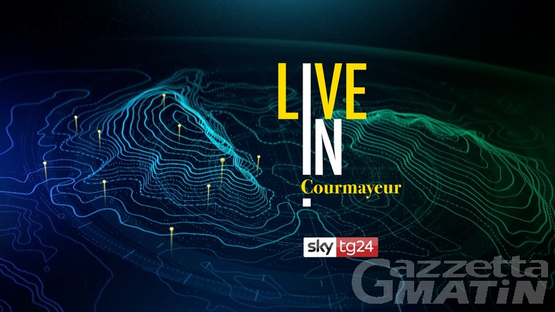 Courmayeur ospita il debutto di Sky TG24 Live in
