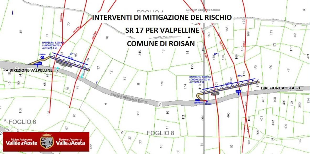 Roisan, la Regionale 17 per la Valpelline riaprirà nell'estate 2021