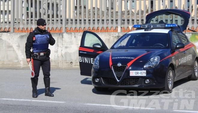 Verrès, cittadino rumeno ricercato arrestato dai carabinieri