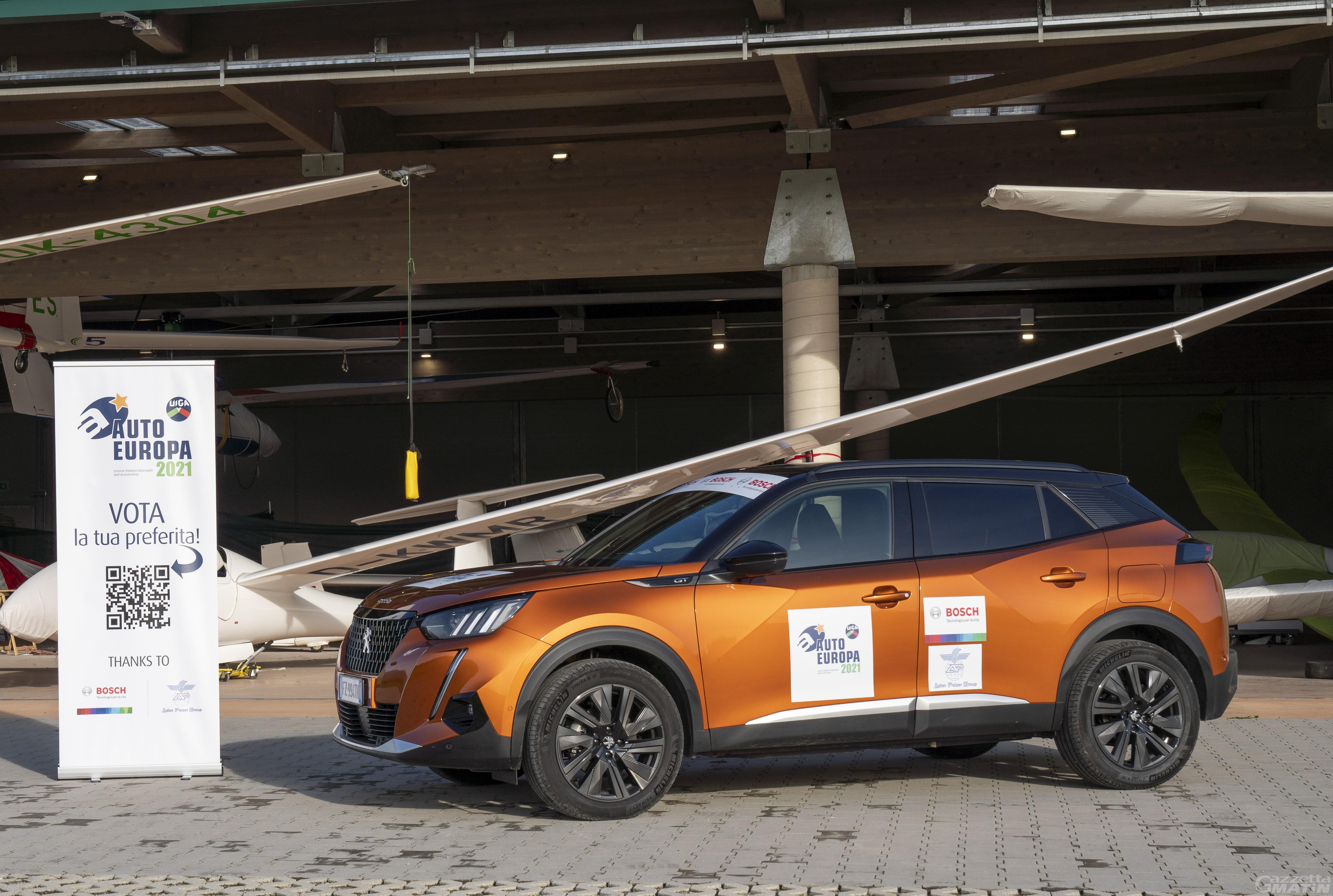 """A Peugeot 2008 il premio """"Auto Europa 2021"""""""