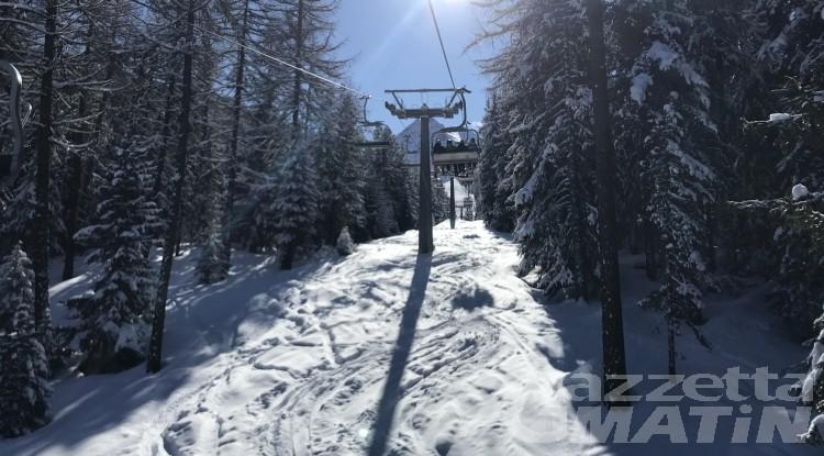 Sci: in Valle d'Aosta si parte il 18 febbraio