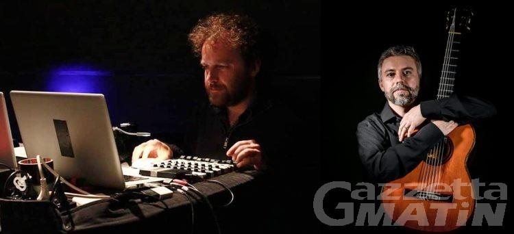 Spettacolo, Synérgeya Duo: concerto audiovisivo e interattivo sul portale Voci di Cittadella