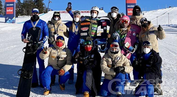 Snowboardcross: tanta Valle d'Aosta nelle squadre nazionali