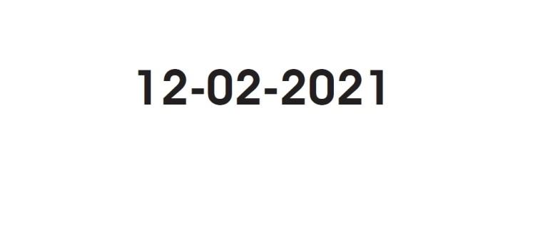Giorno palindromo, alla Cittadella performance audiovisiva per il 12/02/2021
