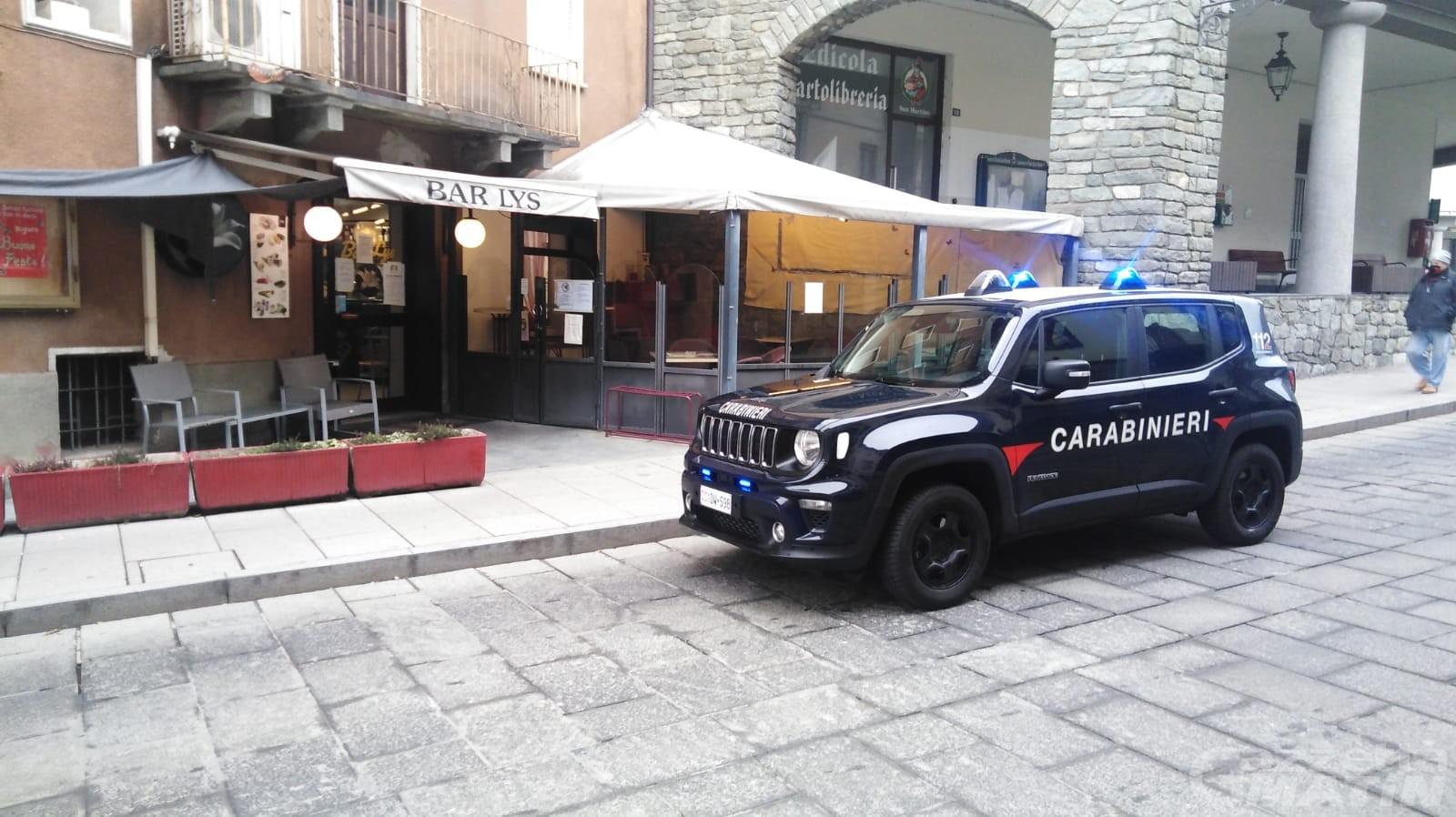 Violazione DPCM: chiusi per 30 giorni due bar di Pont-Saint-Martin