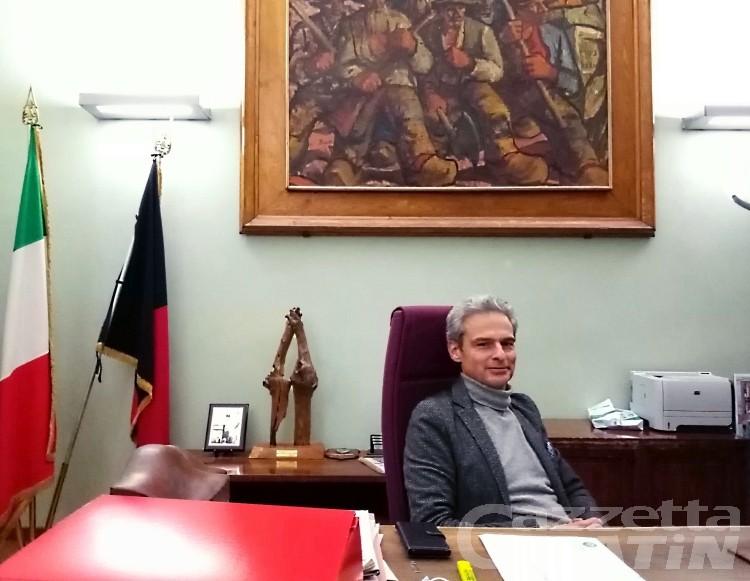 Aosta, le parole del sindaco Nuti dopo un anno di consiliatura: «Niente rivoluzioni, ma cambiamenti graduali»