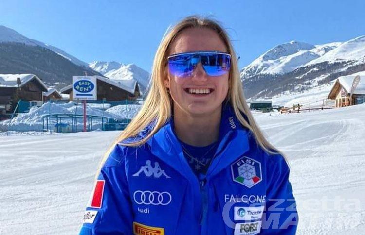 Sci alpino, oro Mondiale per Sophie Mathiou