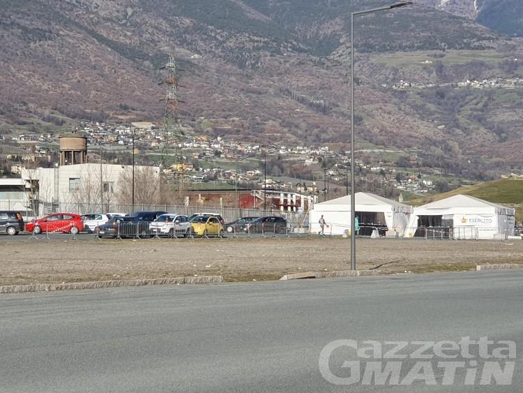 Aymavilles: 600 adesioni allo screening di massa, tamponi anche domani