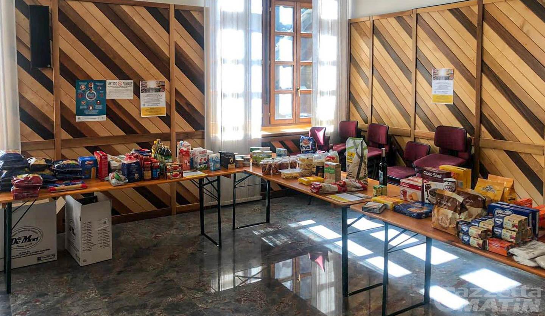 Povertà: a Courmayeur funziona l'iniziativa Carrello Solidale